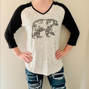 Bear quarter sleeve top